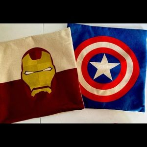17x17 Etsy Marvel Pillow covers